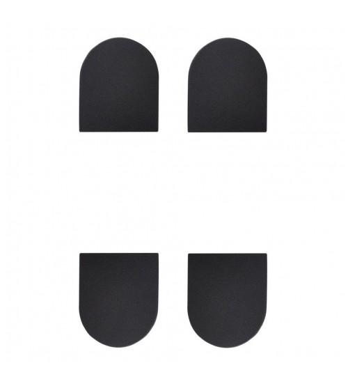 Колпачки декоративные для скрытой петли ECLIPSE 3.0, 000234 черный 4шт
