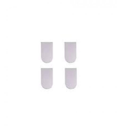 Колпачки декоративные для скрытой петли ECLIPSE 2.0, 00334 белый 4шт