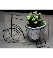 Кашпо для цветов на подставке Велосипед