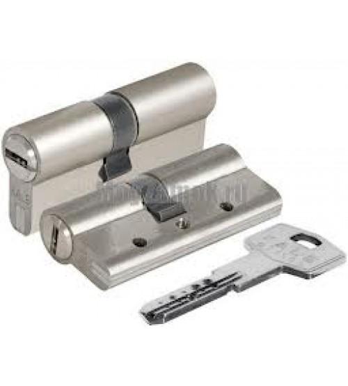 Цилиндровый механизм KALE 164BNE 62(26+10+26) никель матовый