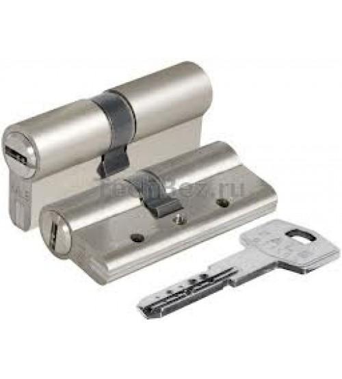 Цилиндровый механизм KALE 164BNE  80(35+10+35) никель матовый