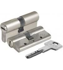 Цилиндровый механизм KALE 164BNE  40+10+40 никель матовый