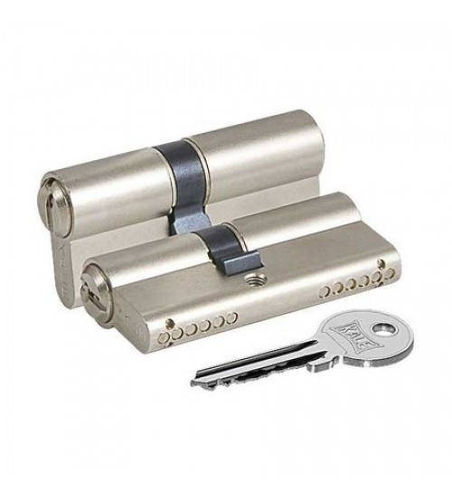 Цилиндровый механизм KALE 164GNC 62(26+10+26) никель матовый