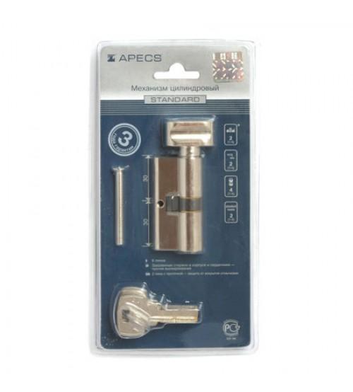 Цилиндровый механизм Apecs EM-68 (31/37C)-C-NI никель