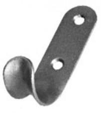 Крючок-вешалка 7 полимер серебро