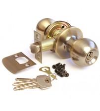 Кноб ключ-wc 6072-01-AB античная бронза