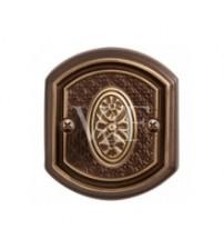 Rozeta de WC-71 CB bronz ciocolată