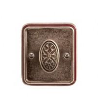 Накладка под WC-72 AI/WBR серебро античное