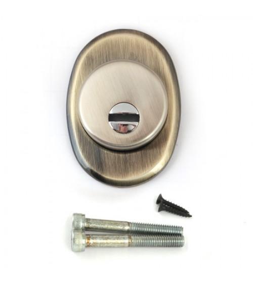 Rozeta antiefractie Protector Pro 50/27 AB bronz antichizat