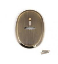 Rozeta de cheie DP-11-S-AB-shutter bronz antichizat