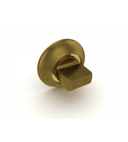 Rozeta de WC   FUARO BK6 KM AB/GP-7  bronz antichizat/auriu lucios