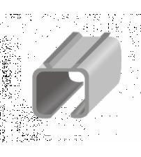 Направляющая L2 алюминий 2м