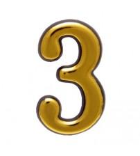 """Numar AMIG """"3"""", aur"""