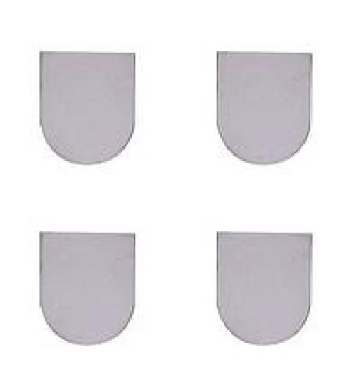 Колпачки декоративные для скрытой петли ECLIPSE 3.0, 000234 никель.мат 4шт