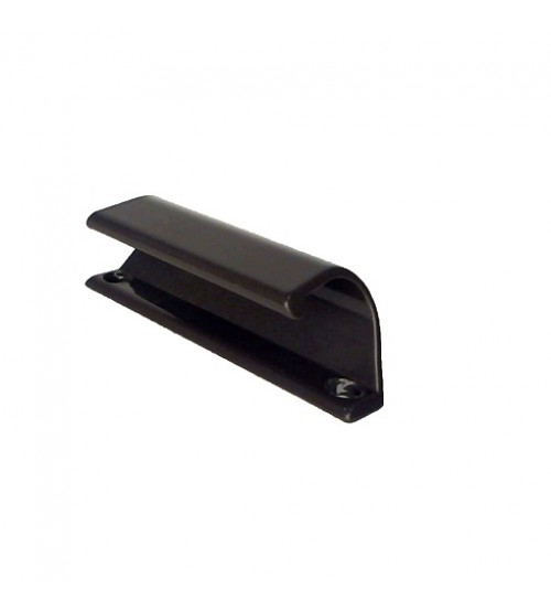 Ручка балконная (ручка курильщика) коричневая