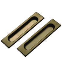 Ручки для раздвижных дверей SDH 601 AB бронза античная