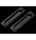 Maner ingropat usi glisante SDH 601 B negru