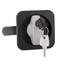 Щитовой замок-ручка EURO-LOCKS (FFH) F710