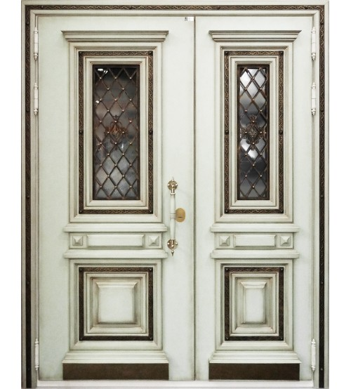 """Входная двухстворчатая  дверь  """"Дворцовая-2"""""""