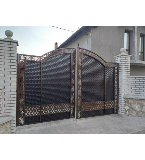Ворота металлические №11