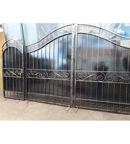 Ворота металлические №20